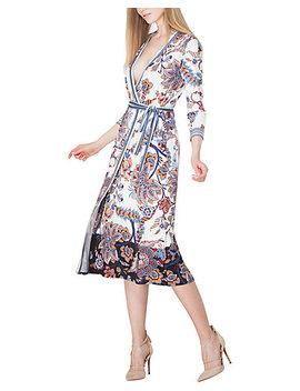 Hale Bob Wrap Dress by Hale Bob