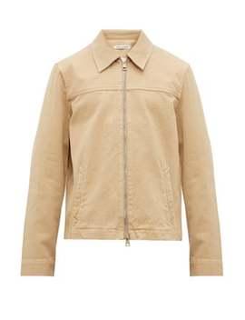 Drip Yoke Zip Through Shirt Jacket by Our Legacy