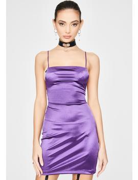Purple Kozue Mini Dress by Motel