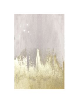 Oliver Gal Off White Starry Night Canvas Wall Art by Oliver Gal