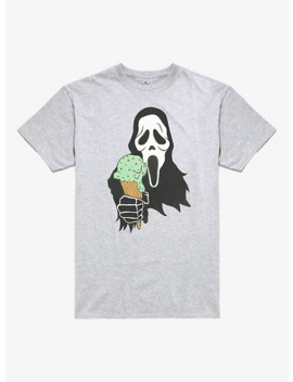 Ghost Face Ice Cream T Shirt by Hot Topic