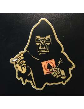 Mf Doom Special Herbs & Spices Zig Zag Man Sticker ( Underground Hip Hop 90s Sticker ) by Etsy