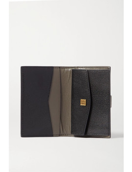 Gv3 Smooth And Textured Leather Wallet by Givenchy