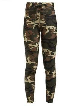 Camouflage Print Leggings by The Upside