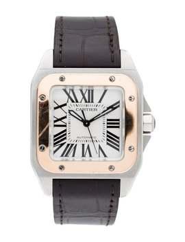 Santos 100 Watch by Cartier