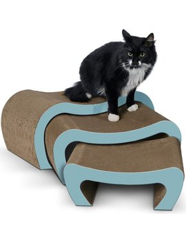 Branton Cat Lounger For Play Rest Scratchers And Scratching Post by Tucker Murphy Pet