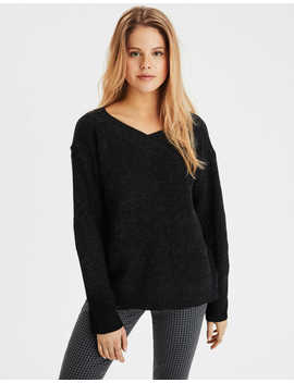 Ae Slouchy V Neck Sweater by American Eagle Outfitters