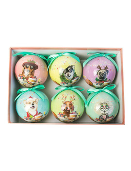 Canine Feast Bauble Set by La La Land