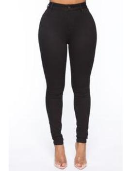 You Could Neva High Rise Pant   Black by Fashion Nova
