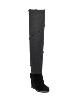 Classic Mondri Over The Knee Wedge Boot by Ugg