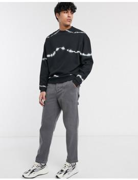 Asos Design – Czarno Biała Bluza Oversize by AsosDesign