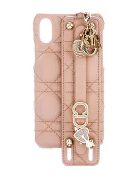 Embellished I Phone X Case by Christian Dior