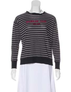 Linen Bateau Neckline Sweatshirt by Étoile Isabel Marant