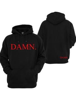 Damn Kendrick Lamar Hoodie by Etsy