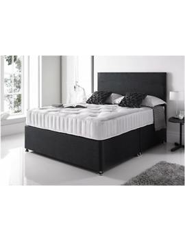 <Span><Span>Orthopaedic Divan Bed Set With Mattress And Headboard 3 Ft 4 Ft6 Double 5 Ft King</Span></Span> by Ebay Seller