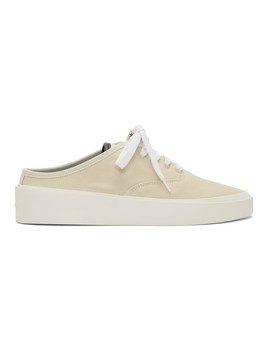 Off White 101 Backless Sneakers by Fear Of God