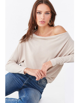 Dolman Off The Shoulder Top by Forever 21