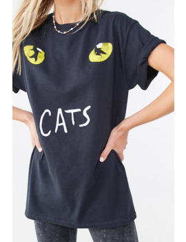 Cats Graphic Tee by Forever 21