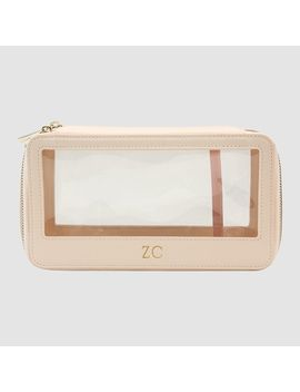 Sheer Pink Clear Travel Case         Sheer Pink Clear Travel Case by Tde.
