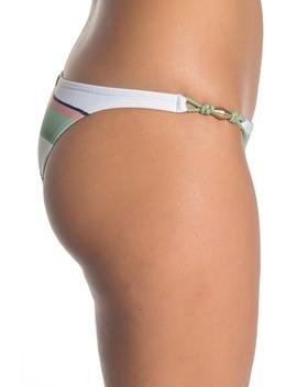 Calala Stripe Bikini Bottoms by Vi X