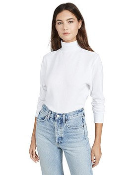 The Mock Neck Top by Hanes X Karla
