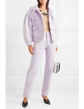 Oversized Denim Jacket by Pushbutton