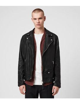 Hedworth Leather Biker Jacket by Allsaints