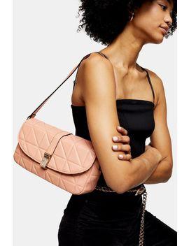 Savannah Pink 90's Shoulder Bag by Topshop