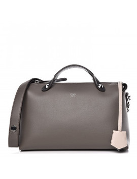 Fendi Calfskin Medium By The Way Satchel Carbon by Fendi