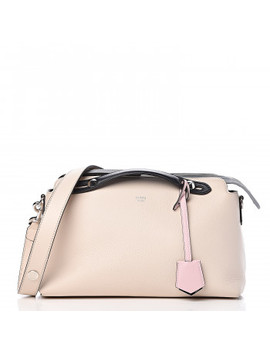 Fendi Calfskin Small By The Way Multicolor Boston Camelia Peonia by Fendi