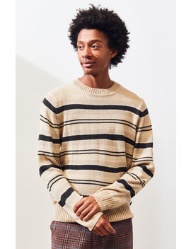 Brixton Wes Crew Neck Sweater by Pacsun
