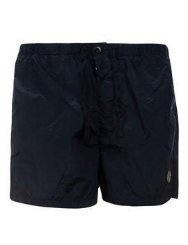 Stone Island Lace Waist Shorts by Stone Island