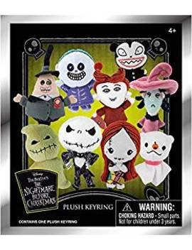 Plush Key Chain   Nightmare Before Christmas   Plush New 22655 by The Nightmare Before Christmas