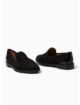 House Of Hounds Black Velvet Styx Brocade Loafers by Topman