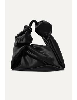 Baby Wrap Satin Shoulder Bag by Simone Rocha