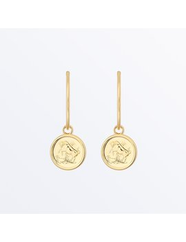 Zodiac Jewelry    Taurus Hoop Earrings              Regular Price        €64 by Ana Luisa