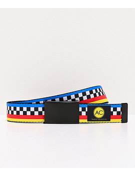 Artist Collective Colorblock Web Belt by The Artist Collective