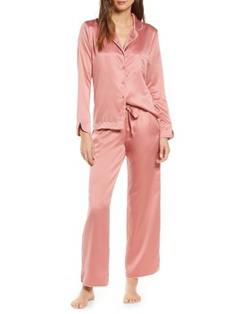 Satin Pajamas by Rachel Parcell
