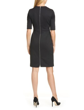 Daxine Textured Sheath Dress by Boss