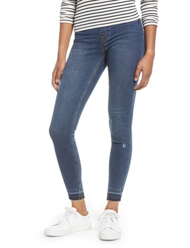 Distressed Skinny Jeans by Spanx®