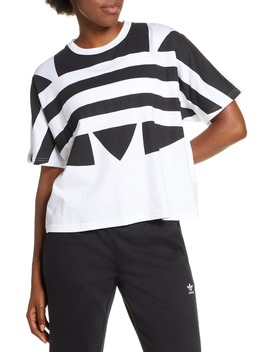 Large Logo Tee by Adidas Originals