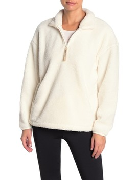 Fleece Quarter Zip Sweater by Skechers