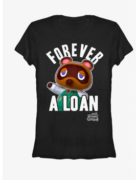 Nintendo Animal Crossing Forever A Loan Girls T Shirt by Hot Topic