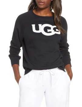 Fuzzy Logo Sweatshirt by Ugg