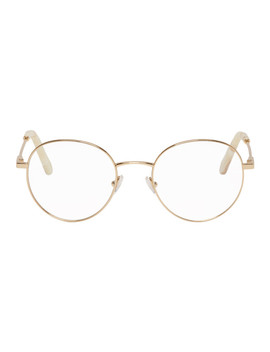 Gold Round Glasses by ChloÉ