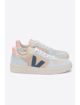 Veja V10 Suede Sneakers   Multico Almond California by Garmentory