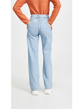 Wide Leg Jeans by Eckhaus Latta