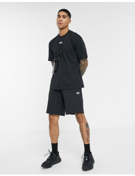 Adidas Originals Central Vocal Logo T Shirt In Black by Adidas Originals