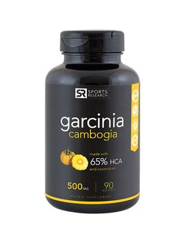 Garcinia Cambogia   500 Mg (90 Softgels) by Sports Research Corporation