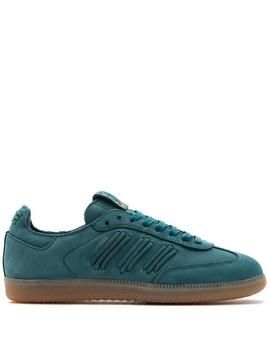 Adidas Consortium Samba   Deep Hue/Core Green by Garmentory